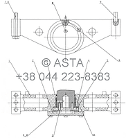 ЗАДНЯЯ ПОДВЕСКА -Z35H0503, фото 1