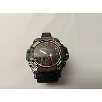 Кварцевые спортивные Наручные Часы G-Shock 2 protection Чёрно-красные