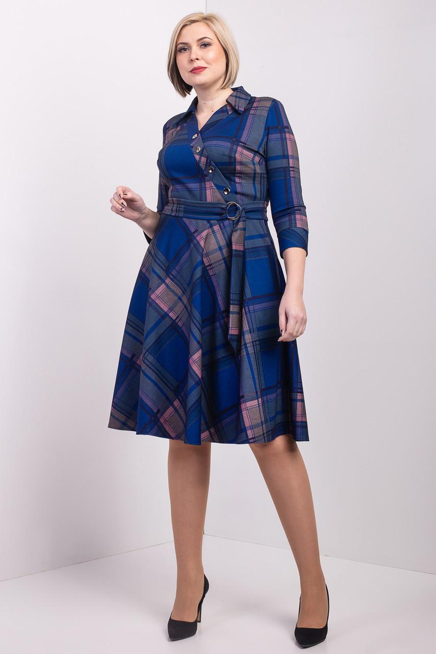 Батальное платье с юбкой полусолнце