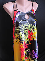 Распродажа красивых атласных сарафанов на лето., фото 1