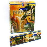 Благовония Нэтурал Сатья 45 г (Agarbatti Natural Satya)