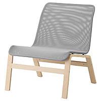 Кресло IKEA NOLMYRA Серый (102.335.32)