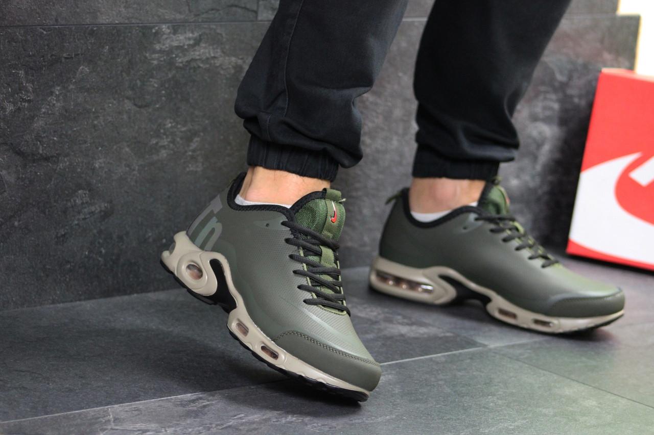 88aa07d0 Мужские Кроссовки Темно Зеленые Nike Air Max TN 7269 — в Категории ...