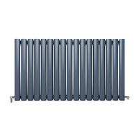 Радіатор дизайнерський Ideale Adele 11 17/550 антрацит