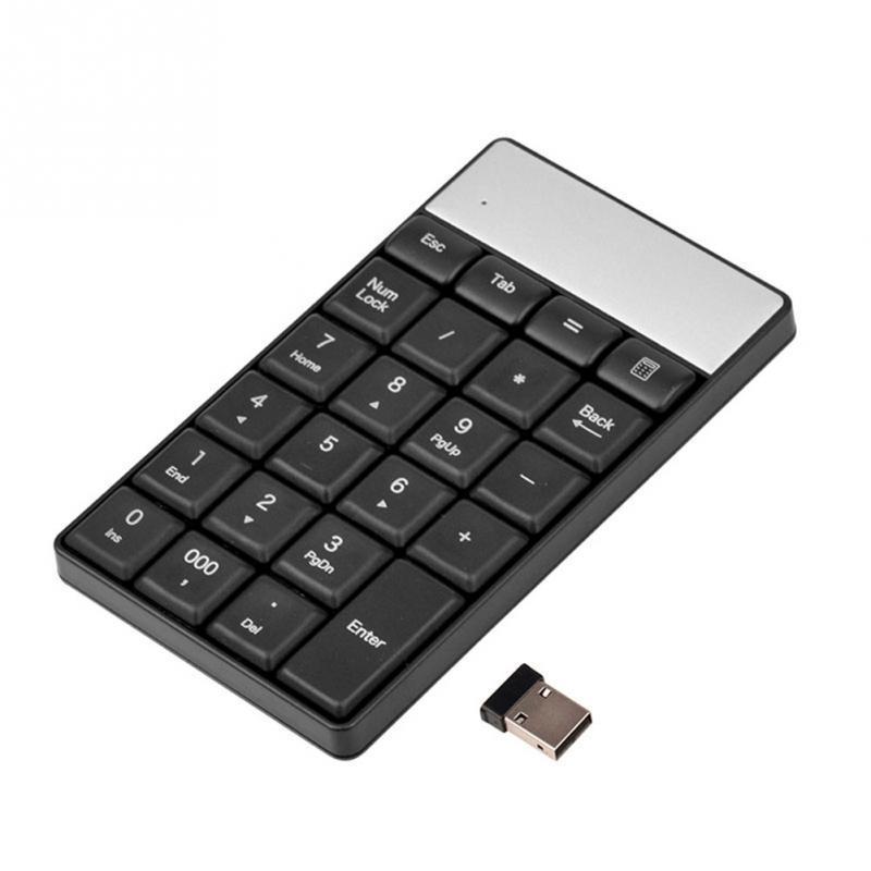 Клавиатура цифровая USB беспроводная 23 клавиши. Числовая USB клавиатура. Цифровой блок