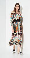 Платье Beauty-3091 белорусский трикотаж, разноцвет, 42