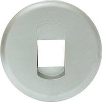 Лицевая панель розетка акустическая одинарная Титан Legrand Celiane (68511), фото 1