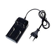 Сетевые зарядные устройства для двух Аккумуляторов 18650-2/4056 с шнуром ( BL-018/042/ )