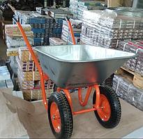 Тачка будівельна  двоколісна 6410 ( колесо каучукове) | Тачка строительная  двухколесная 6410 (колесо каучук)