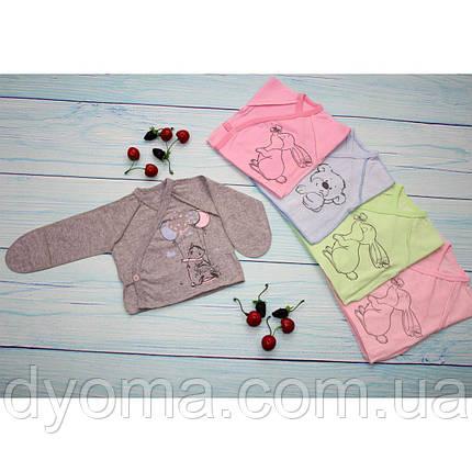 Дитяча сорочка з довгим рукавом для дівчаток і хлопчиків, фото 2