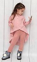 """Туника-рубашка на девочку (116-140 см) """"Style Kids"""" LM-779"""