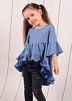 """Туника-рубашка на девочку (116-140 см) """"Style Kids"""" LM-779, фото 1"""