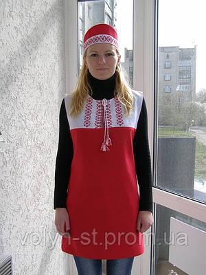 "Комплект ""Оксана"", халат-фартук+головной убор"