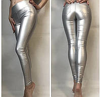 Модные Женские лосины ЭКО-кожа 7 цветов, фото 1