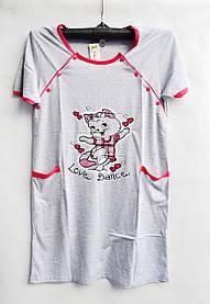 Ночная рубашка оптом 100%Cotton (44-50) D99 -33065