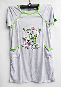Ночная рубашка оптом 100%Cotton (44-50) D99 -33066