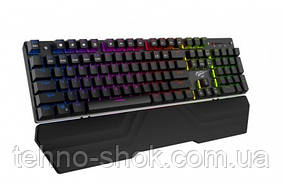 Клавиатура HAVIT HV-KB432L, (АНГЛ) multimedia wired USB