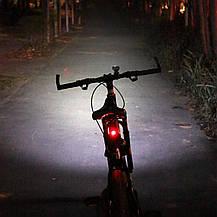 Светодиодные велосипедные фонари Cycloving передний и задний водостойкие, фото 2
