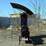 Коптильня горячего и холодного копчения БОМБА с квадратной камерой, фото 2