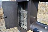 Коптильня горячего и холодного копчения БОМБА с квадратной камерой, фото 3