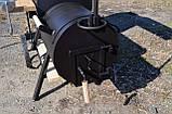 Коптильня горячего и холодного копчения БОМБА с квадратной камерой, фото 8