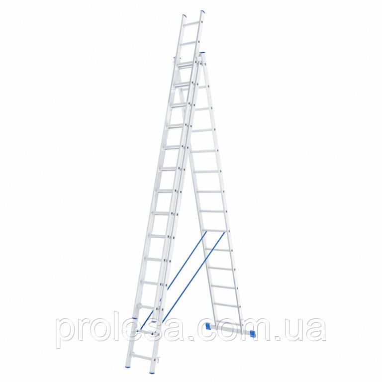 Лестница трехсекционная 3х14 ступеней
