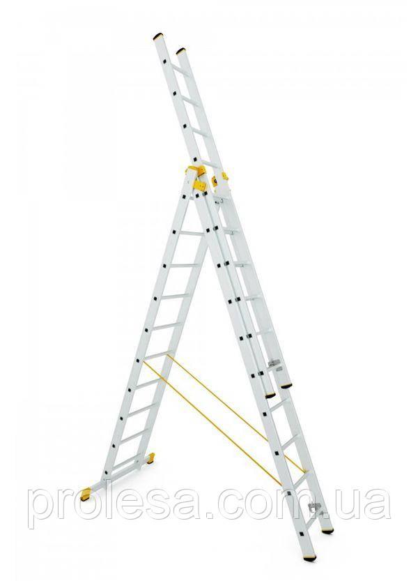 Лестница трехсекционная 3х10 ступеней