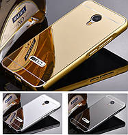 Чехол бампер для Meizu MX6 зеркальный