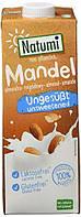 Мигдальна олія рослинна органічне молоко Natumi Natural, 1л