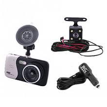 Только опт!!! Автомобильный видеорегистратор DVR X 600 с двумя камерами, 1080P Full HD