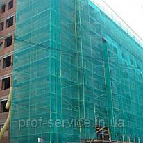 Сітка для риштувань  60 г/кв.м., 3,0х50 м, HDPE.green