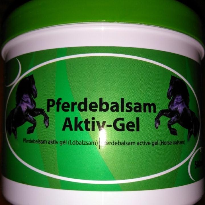 Конская мазь pferdebalsam aktiv-gel aktiv gel кінська мазь 500мл 500ml