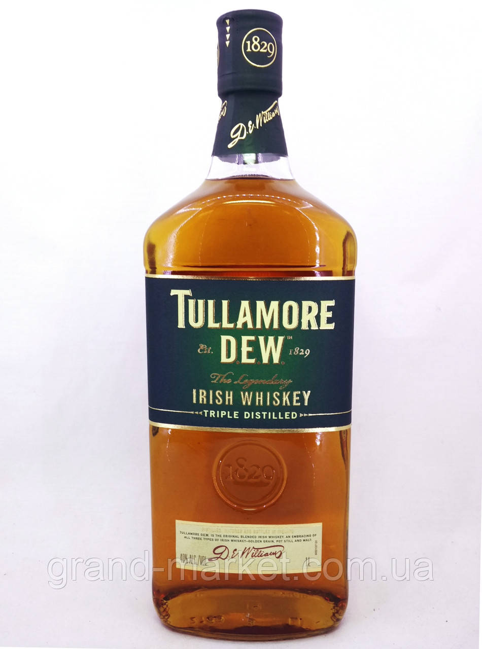 """Виски """" Tullamore Dew """" 1l"""