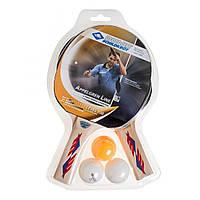 Набор для настольного тенниса Appelgren, древесина, 2 ракетки, 3 шарика (788610)
