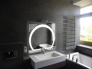 Зеркало LED (80*80*3см) VZ-D49