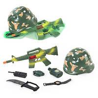 Детский набор Военный 8011, 7 предметов