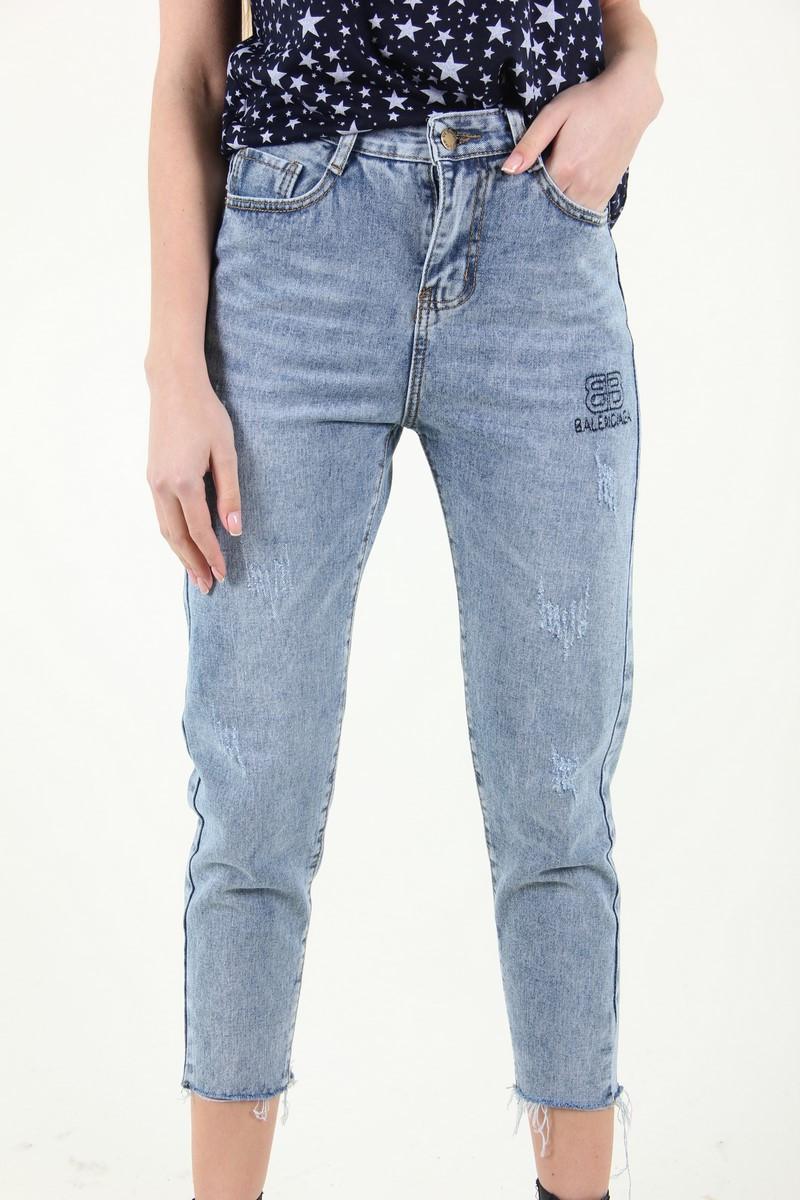 Женские джинсы-капри
