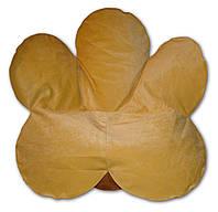 Велюровое бескаркасное кресло мешок Цветок , фото 1