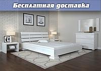 Кровать деревянная Премьер из натурального дерева , фото 1