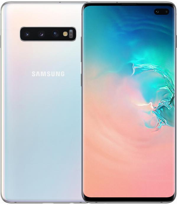 Смартфон Samsung Galaxy S10plus  128GB DS Prism  White