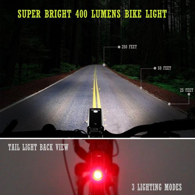 Светодиодные велосипедные фонари
