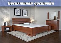 Кровать деревянная Домино без подъёмного механизма из натурального дерева
