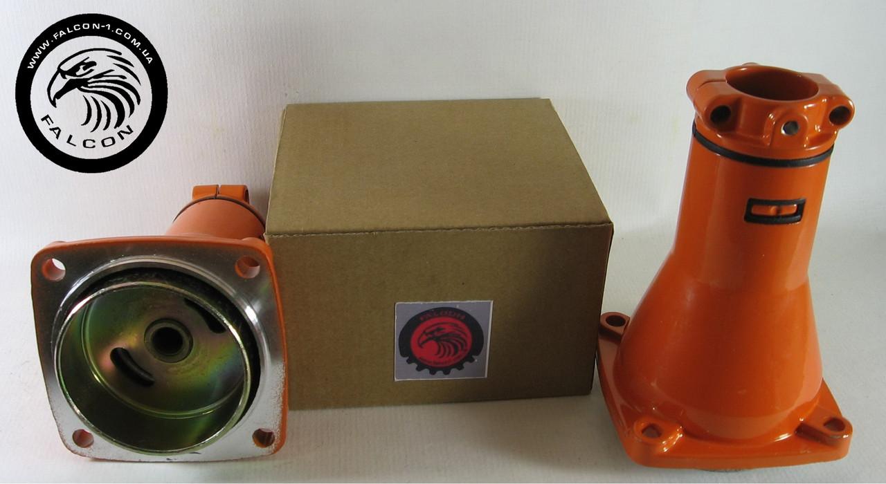 Редуктор верхний, 7 шлицов, D трубы - 26 мм, D муфты - 66 мм (010268E для мотокос)