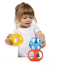 Игрушка-мяч Oibo (яркие цвета, 3 шт в уп.) Moluk., фото 2
