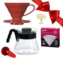 Подарочный набор HARIO V60 01 для альтернативного заваривания кофе