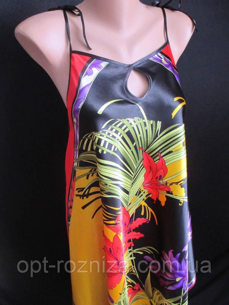 Распродажа летних атласных сарафанов.