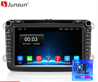 Junsun 4G Android магнитола для  Volkswagen VW 2 din для авто