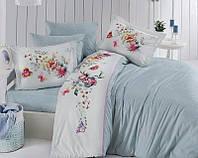 Комплект постельного белья FIRST CHOICE Deluxe Ranforce евро 04 Noami