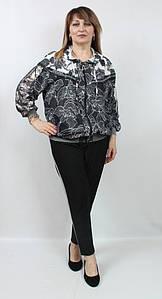 Турецкий женский костюм с пайетками, размеры 54-66