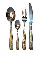 Нож столовый с узором из коллекции Мишки